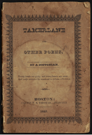 Tamerlane and Other Poems. By a Bostonian